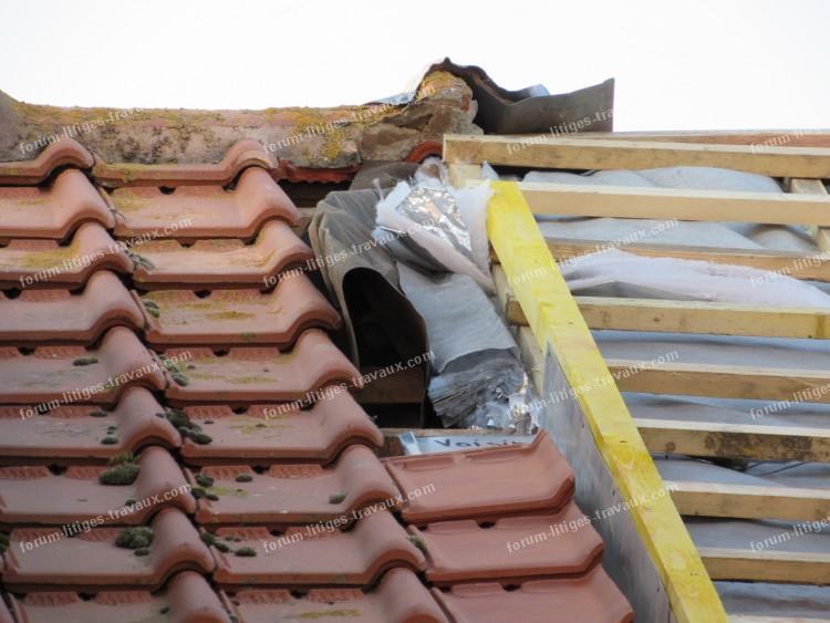 empie tement sur notre toiture 06