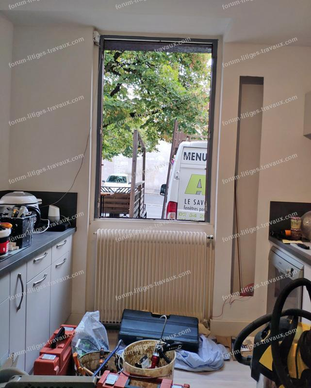 problèmes pose fenêtres par grande surface de bricolage