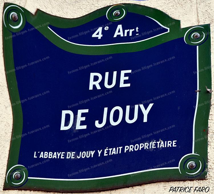 rue de Jouy Paris 4ème arrondissement